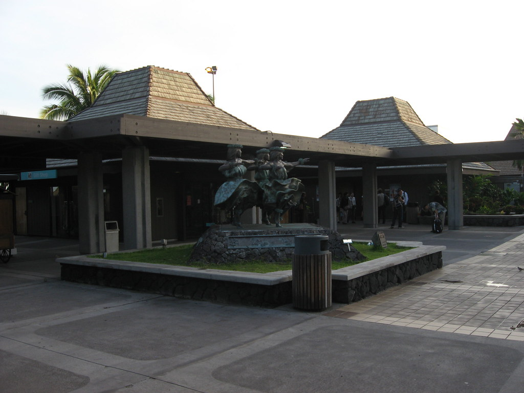 These little typical houses form Kona's Airport Terminals.
